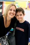 Mrs. Muller & Caleb - 1st Day of School