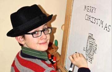 Caleb Christmas 2012