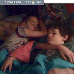 Brothers Sleeping